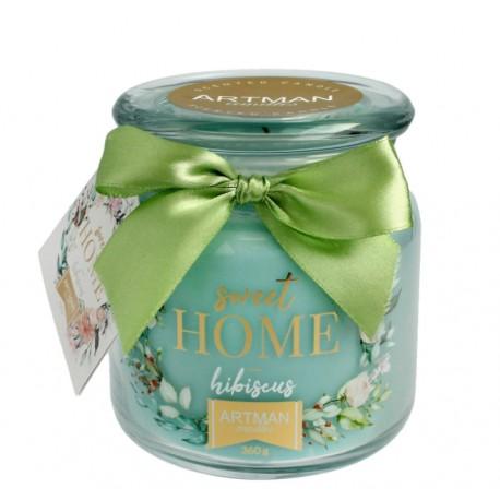 Świeca zapachowa w słoiku Sweet Home Hibiscus